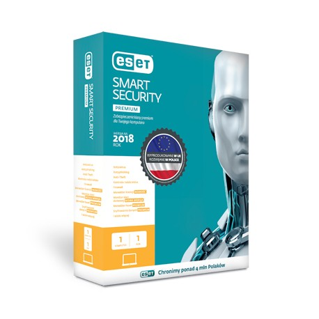 ESET Smart Security Premium na 1 rok