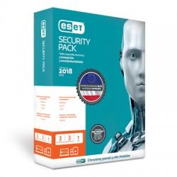 Przedłużenie licencji ESET Security Pack 3+3 na 3 lata (3 komputery + 3 smartfony)