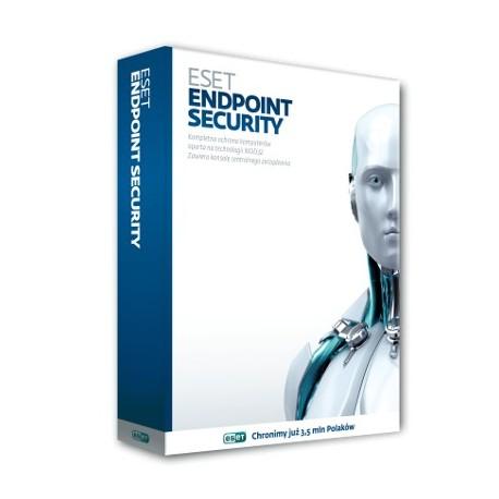 ESET Endpoint Security na 1 rok - 6 i więcej stacji roboczych i serwerów