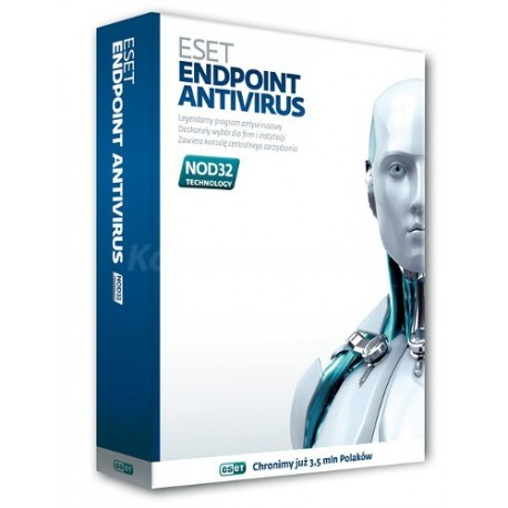 ESET Endpoint Antivirus NOD32 na 1 rok - 5 i więcej stacji roboczych